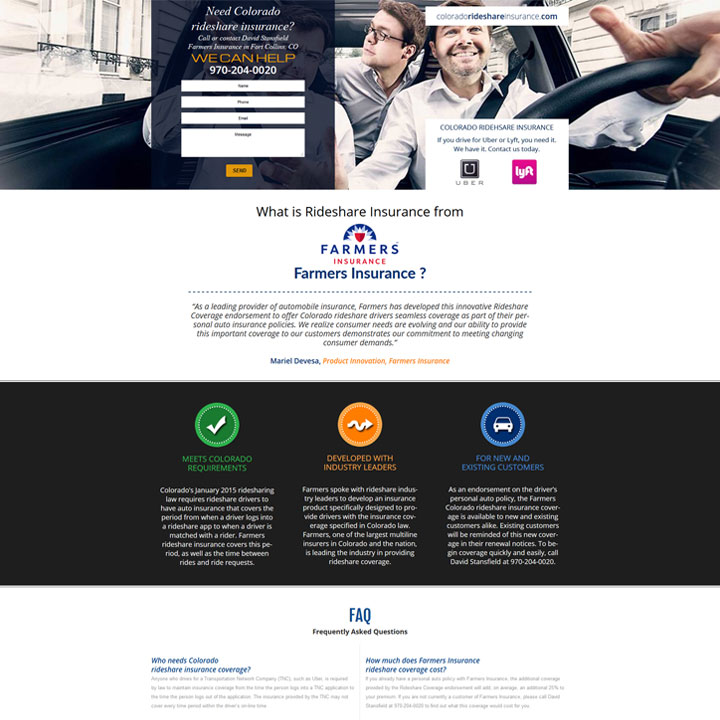 Landing Page Web Design & Development